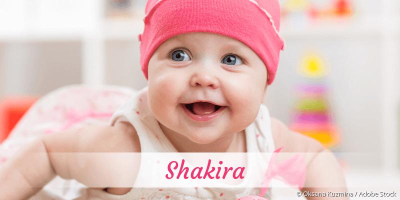 Name Shakira als Bild