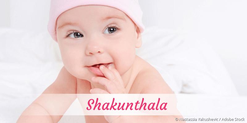 Name Shakunthala als Bild