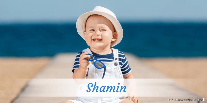 Name Shamin als Bild