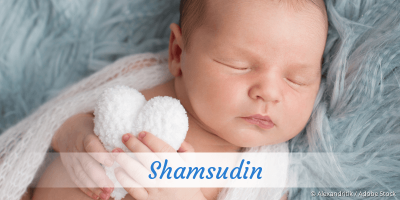 Name Shamsudin als Bild