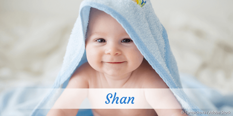 Name Shan als Bild