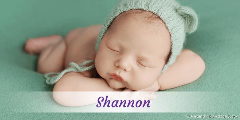 Name Shannon als Bild