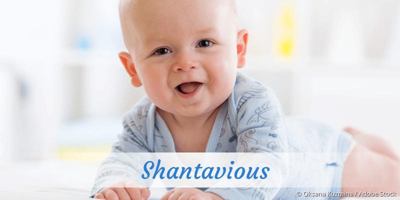 Name Shantavious als Bild
