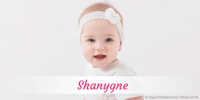 Name Shanygne als Bild