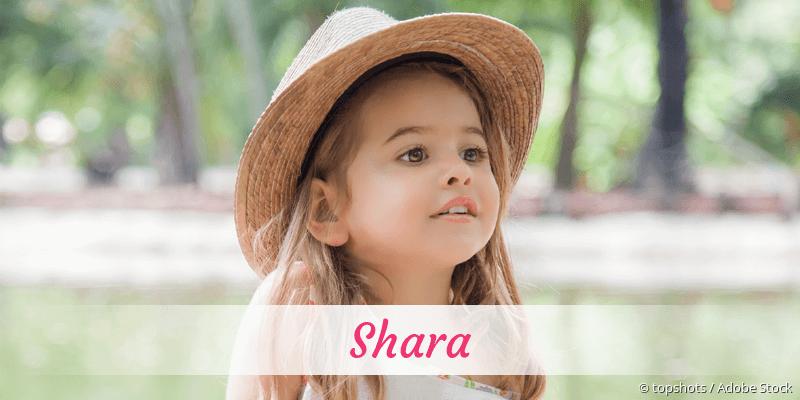 Name Shara als Bild