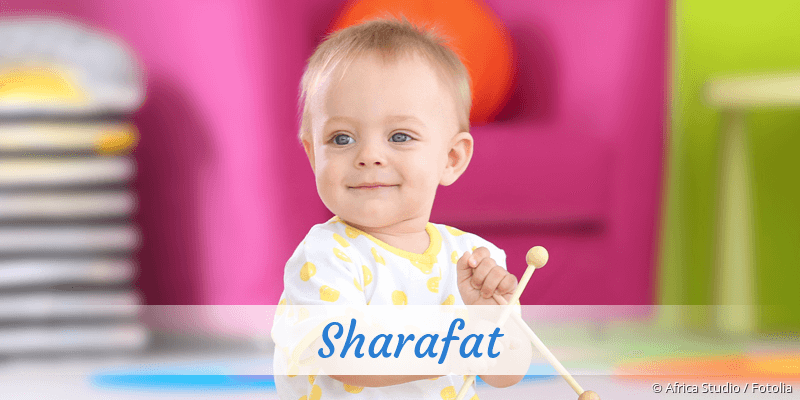 Name Sharafat als Bild