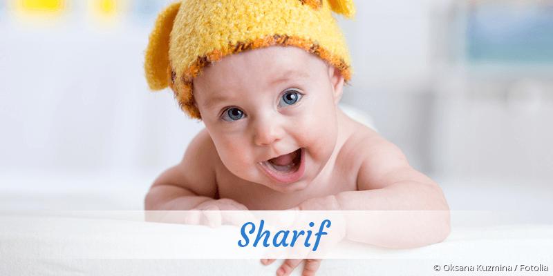 Name Sharif als Bild