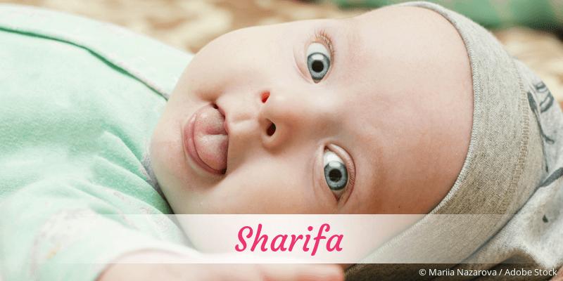 Name Sharifa als Bild