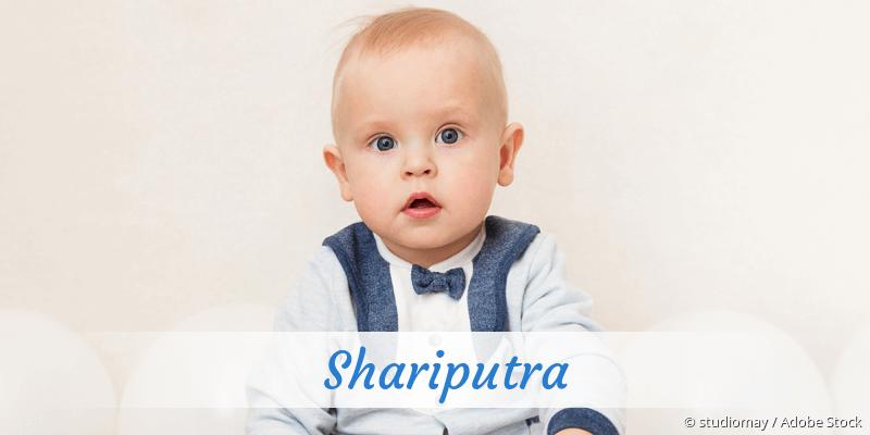 Name Shariputra als Bild