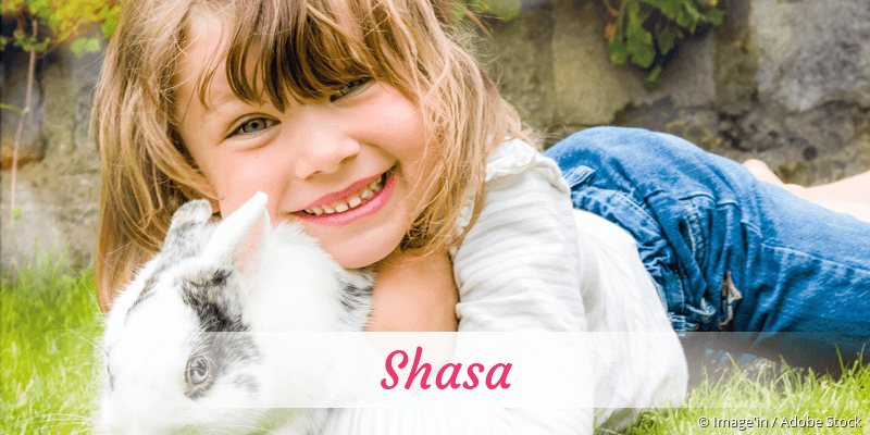 Name Shasa als Bild