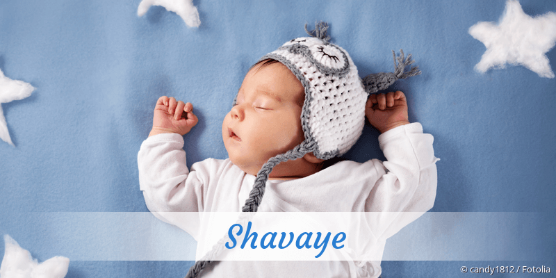 Name Shavaye als Bild