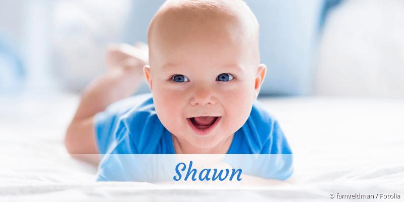 Name Shawn als Bild
