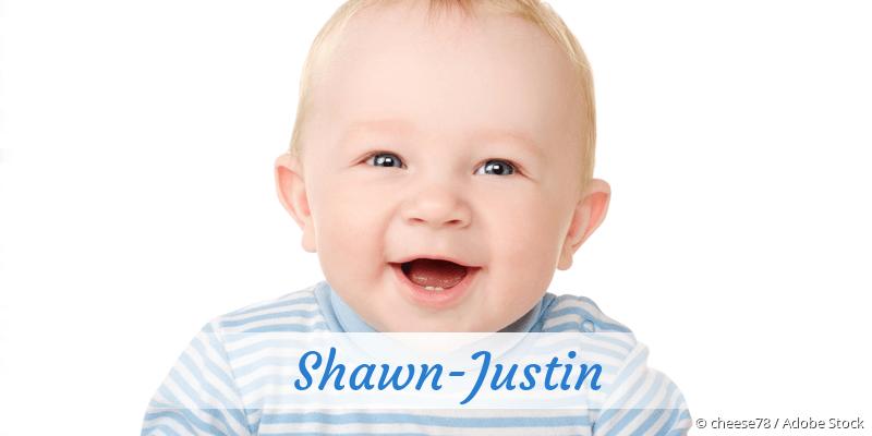 Name Shawn-Justin als Bild