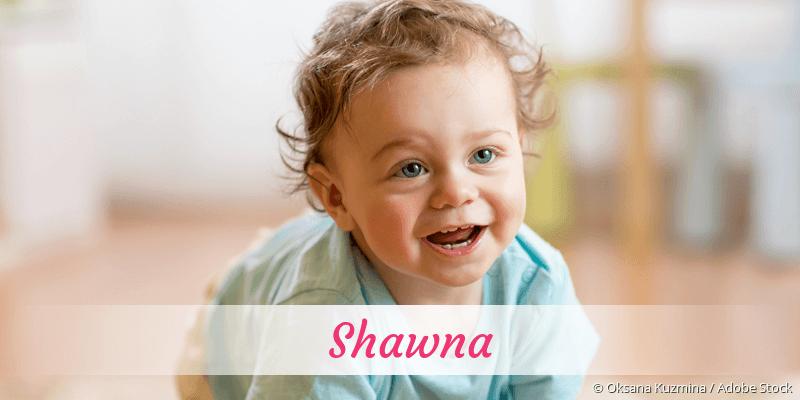 Name Shawna als Bild