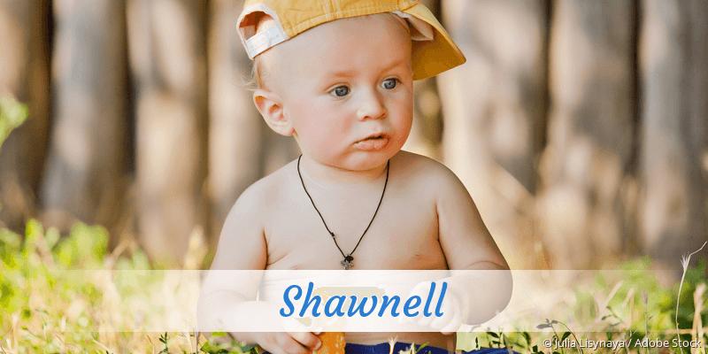 Name Shawnell als Bild