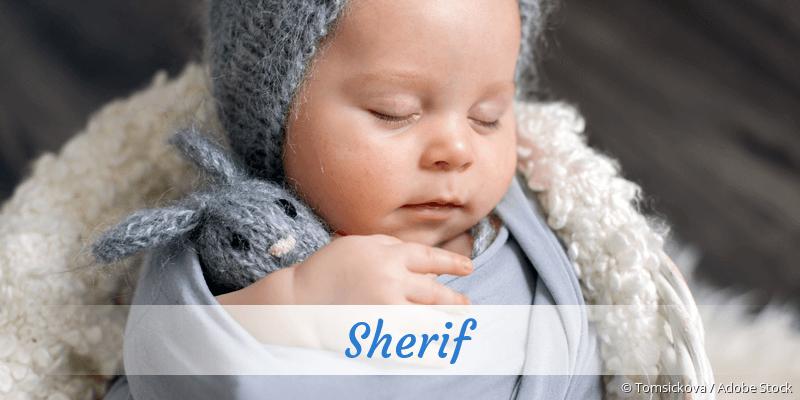 Name Sherif als Bild