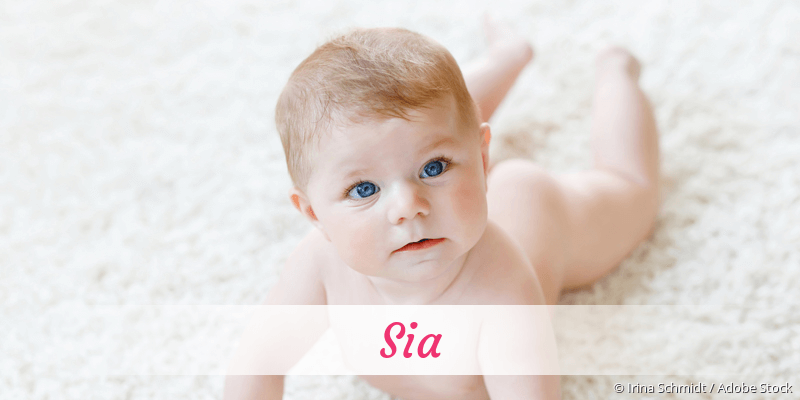 Name Sia als Bild