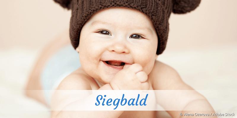 Name Siegbald als Bild
