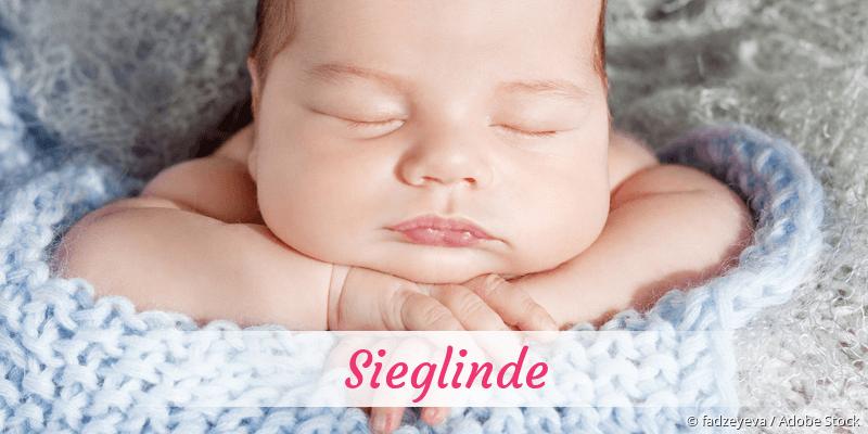 Name Sieglinde als Bild