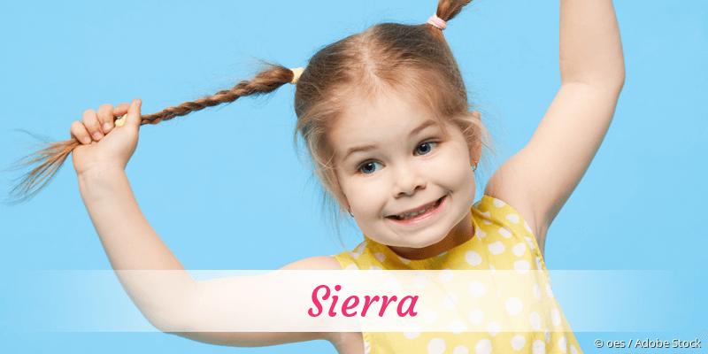 Name Sierra als Bild