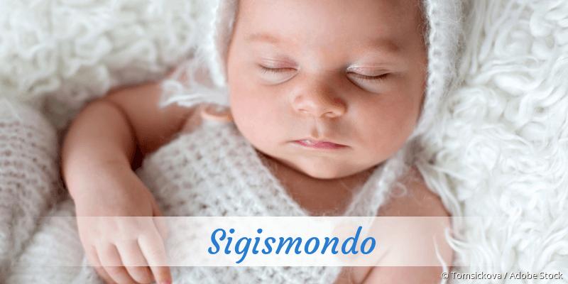 Name Sigismondo als Bild