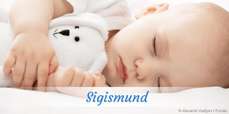 Name Sigismund als Bild