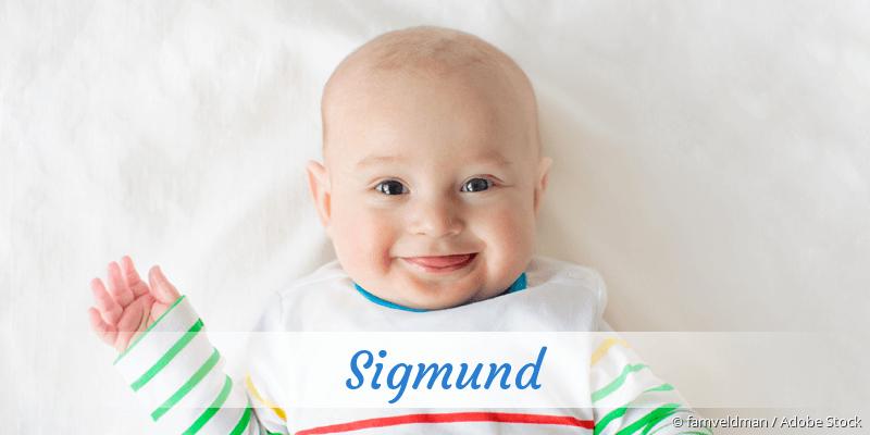 Name Sigmund als Bild