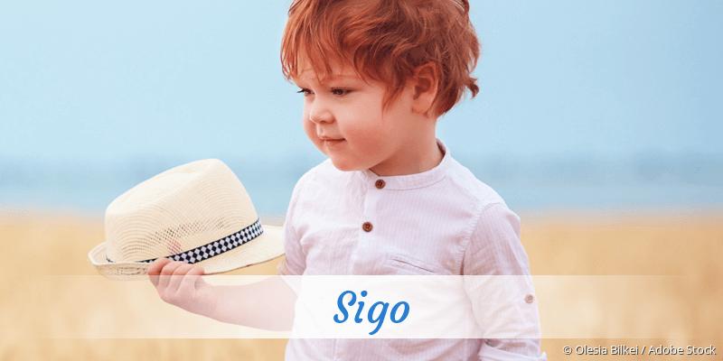 Name Sigo als Bild