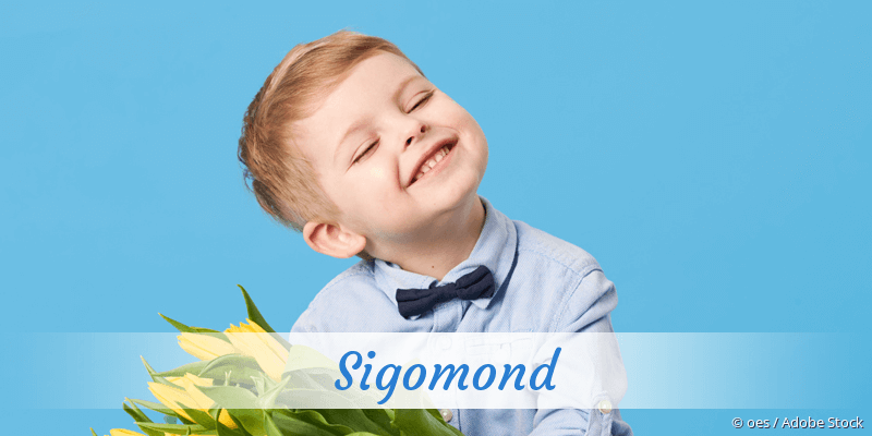 Name Sigomond als Bild