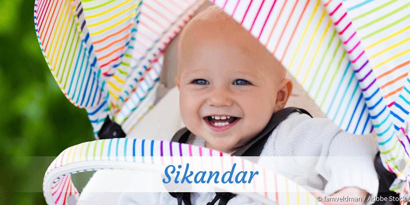 Name Sikandar als Bild