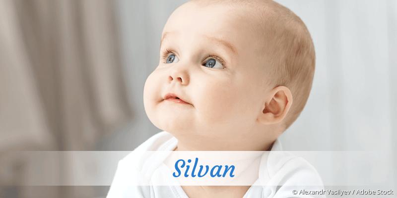 Name Silvan als Bild