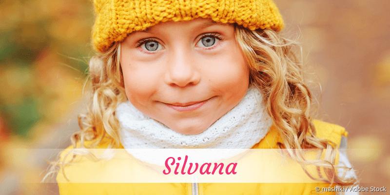 Name Silvana als Bild