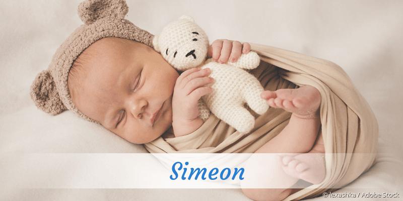 Name Simeon als Bild