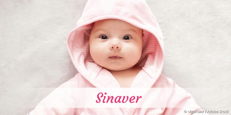 Name Sinaver als Bild