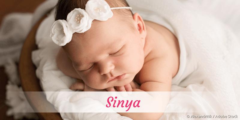 Name Sinya als Bild