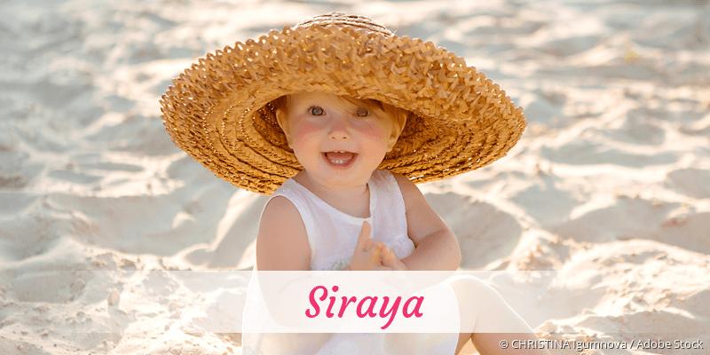 Name Siraya als Bild