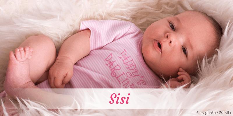 Name Sisi als Bild