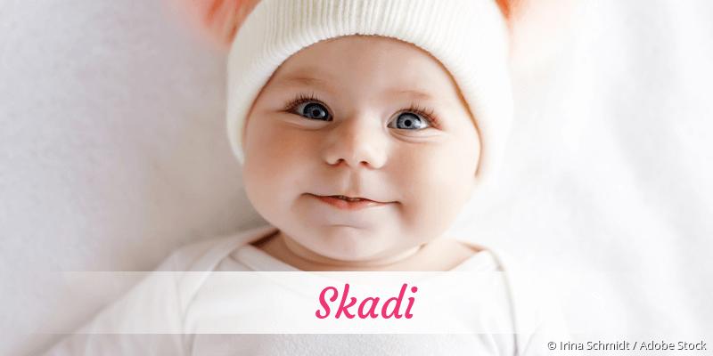 Name Skadi als Bild