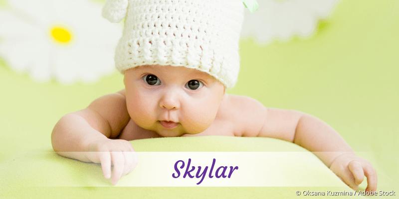 Name Skylar als Bild