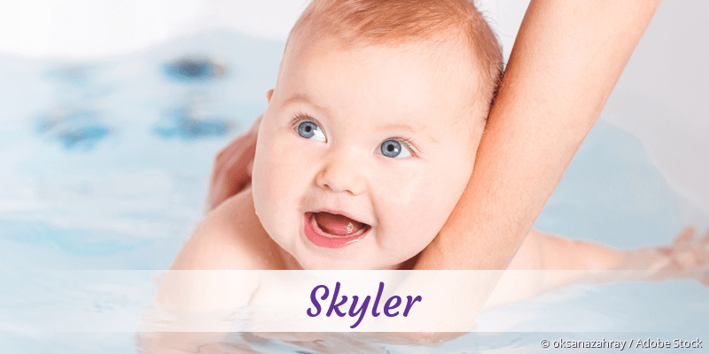 Name Skyler als Bild