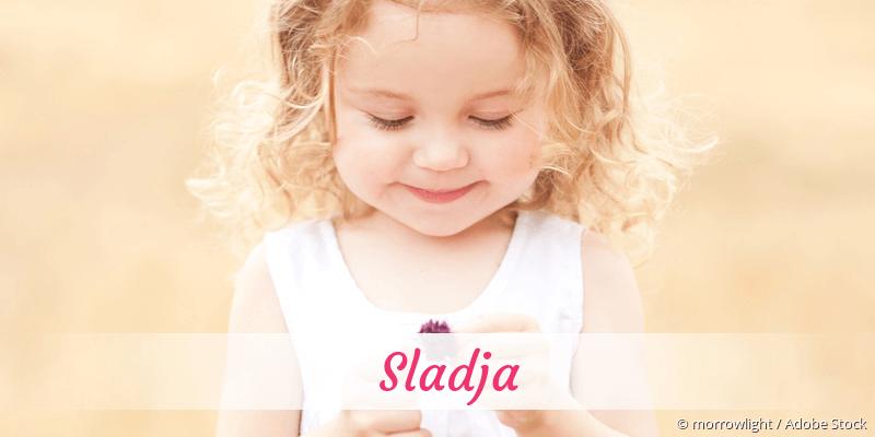 Name Sladja als Bild