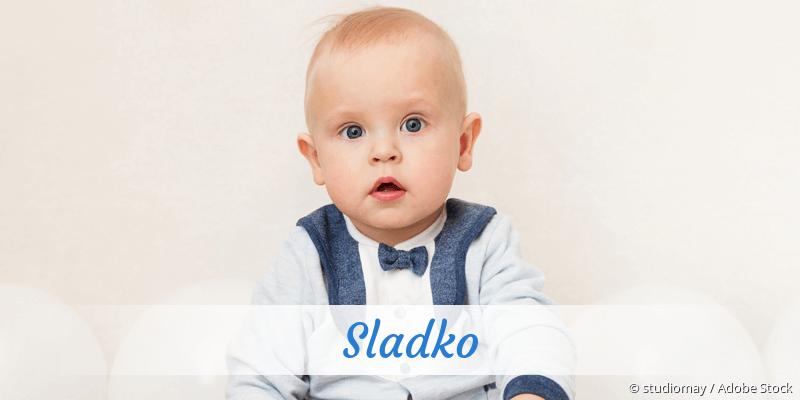 Name Sladko als Bild