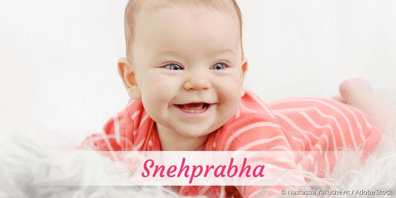 Name Snehprabha als Bild