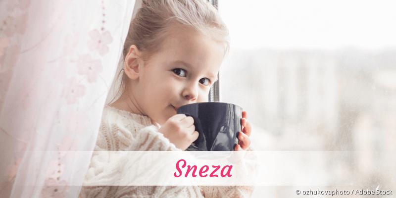 Name Sneza als Bild