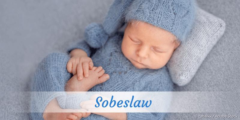 Name Sobeslaw als Bild