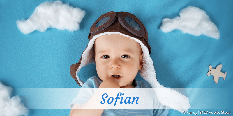 Name Sofian als Bild