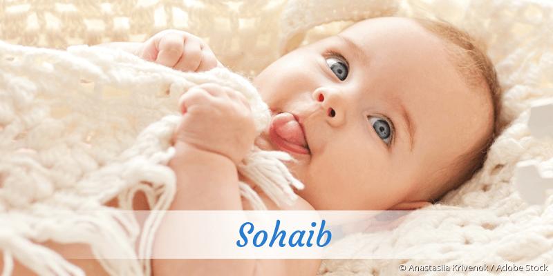 Name Sohaib als Bild