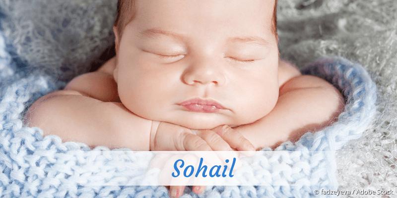 Name Sohail als Bild