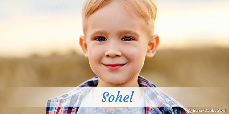 Name Sohel als Bild