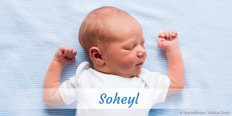 Name Soheyl als Bild
